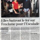 La Tribune de Genève du 9 décembre 2011