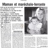 Dauphiné libéré le 29 novembre 2002